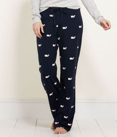 Crazy looking but they look so comfy - Houndstooth Whale Lazy Pants