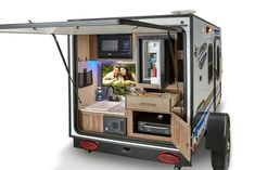 Kayak Storage Rack Plans Best Of Little Wonders 15 Tiny Camping Trailers Tiny Trailers, Cargo Trailers, Camper Trailers, Travel Trailers, Scamp Camper, Cargo Trailer Camper Conversion, Offroad Camper, Utility Trailer, Rv Travel
