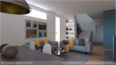 interior, industrial, loft, architettura di interni, render, www ...