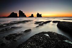 New Zealand Coastal Landscape Photograph  - New Zealand Coastal Landscape Fine Art Print