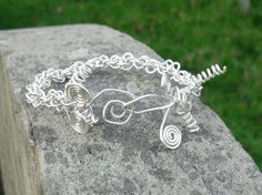 Braided/Twisted Sterling Silver Bracelet/ by LinaSilverLinings