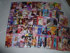 Barbie Bazaar Magazine 1988-2003 (61) Including the Premiere Issue. Barbie The Magazine For Girls 1984-1994 (9) Including the Premiere Issue. Huge Barbie Magazine Lot. | eBay!