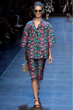 Dolce & Gabbana, Spring – Summer 2016, Ready to Wear   GeorgiaPapadon