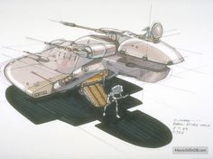 A gallery of Star Wars: Episode I - The Phantom Menace publicity stills and other photos. Nave Star Wars, Star Wars Film, Star Wars Clone Wars, Star Wars Art, Star Wars Vehicles, Army Vehicles, Galactic Republic, Star Wars Concept Art, Star Wars Droids