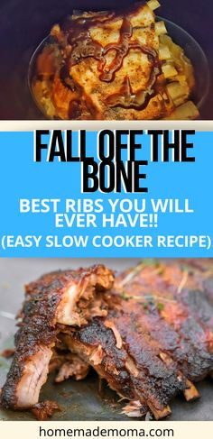 Easy Summer Meals, Quick Meals, Summer Recipes, Slow Cooker Ribs, Dry Rubs, One Pot Meals, Casserole Dishes, Easy Dinner Recipes, Chefs
