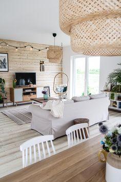 Fall Living Room, Boho Living Room, Classic House, Beautiful Interiors, Home Furnishings, Sweet Home, New Homes, Room Decor, House Design