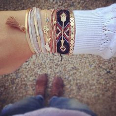 Multiple bracelets Brazilian bracelets