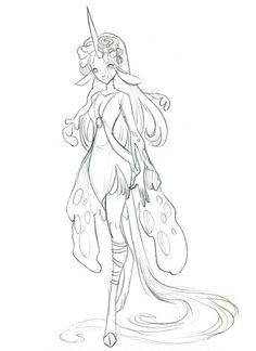 A dress made of flower petals for Bessemir~