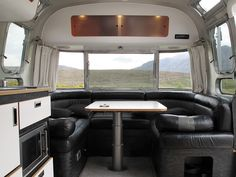 Bed and Breakfast in an Airstream Caravan, Badrallach, North West ...