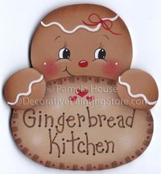 Search Our Store - Decorative Painting Store. Gingerbread Man Decorations, Christmas Gingerbread Men, Gingerbread Ornaments, Christmas Wood, Christmas Projects, Christmas Holidays, Christmas Decorations, Gingerbread Man Crafts, Cheap Christmas