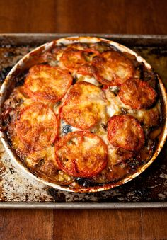 #GlutenFree eggplant parm.  I can sub the cheese.  Sheep and goat cheese are more expensive, though, so maybe this will have to end up being a special occasion dish.