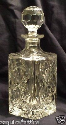 >> on sale at EBAY store: <<  >> #Towle whiskey crystal decanter with stopper (made in Poland) <<  >>  http://stores.ebay.com/esquirestore