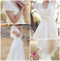 new ideas for bridal brunch outfit guest Plus Wedding Dresses, Open Back Wedding Dress, Western Wedding Dresses, Wedding Dress Chiffon, Wedding Bridesmaid Dresses, Plus Size Wedding, Bridal Dresses, Wedding Gowns, Chiffon Dresses