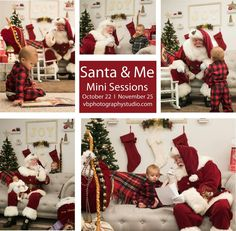 Story and Cookies with Santa mini sessions Christmas Card Pictures, Santa Pictures, Holiday Photos, Christmas Photography Backdrops, Holiday Photography, Photography Business, Photography Ideas, Christmas Mini Sessions, Christmas Minis
