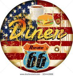 「retro american diner」の画像検索結果