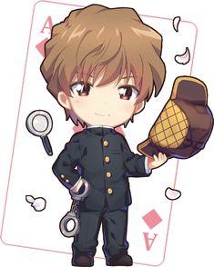Anime Chibi, Manga Anime, Asada Shino, Kaito Kuroba, Detective Conan Wallpapers, Kaito Kid, Detektif Conan, Magic Kaito, Kudo Shinichi