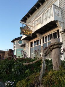 The Sea Chest and Oyster Bar At Moonstone Beach in Cambria California