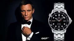 Omega Limited Edition - James Bond 007 | www.majordor.com Omega Seamaster James Bond, Omega Seamaster Chronograph, Omega Seamaster Diver, Omega Seamaster Planet Ocean, Omega Seamaster Automatic, Omega Speedmaster, Seamaster 300, Breitling Watches, Rolex Watches For Men
