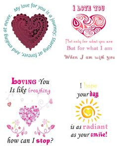 84272a33e96 romantic quote notes love valentine Happy Valentine Images