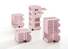 Design icon BOBY, #design by #JoeColombo is available now in tender rose.