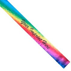 Full-color Sash - Color Blur - Complement your pageant theme with this 3 x satin sash with a rainbow of colors design and your custom text. Custom Sashes, Pageant Sashes, Color Themes, Colors, Satin Sash, Blur, Homecoming, Rainbow, Design