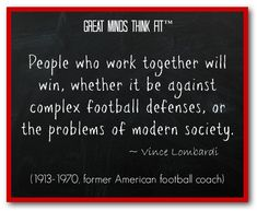 Famous #Football #Quote by Vince Lombardi