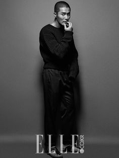 """Bad Guys"""" Jo Dong Hyuk is Charismatic in Latest Pictorial for Elle ..."""
