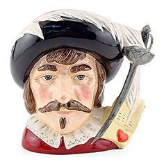 Cyrano De Bergerac - D7004 - Royal Doulton Large Character Jug