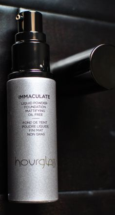 Hourglass Immaculate Liquid Powder Foundation Fights Acne & Keeps Oily Skin In Check. A must try!