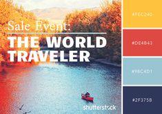 Free Swatch Download: 25 Retro Color Palettes – World Traveler Color Palette
