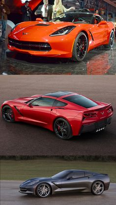 The new corvette looks a lot better then the last one, I does have a large blind spot I would think