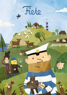 #Fiete Un día en la granja #app #poster https://itunes.apple.com/es/app/fiete-a-day-on-a-farm/id916273469