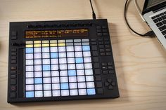 Ableton Push - With 64 Akai-designed touchpads and offering practically unlimited options for creating melody & harmony, beats, loops, sounds, & song structures; it's like having a portable sound studio that fits in your backpack. Music Sequencer, Back To School Deals, Sound Studio, Ableton Live, Drum Machine, Best Smartphone, Cool Tech, Science And Technology, Landline Phone