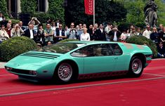 giugiaro italdesign  #Bizzarrini P538 Manta 1968