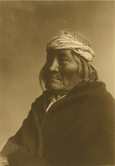 "Jesse L. Nusbaum (1887-1975), Jemez Pueblo Man, New Mexico – 1914Toned Gelatin Silver Print  6.75"" x 4.75"" - Negative #061706"