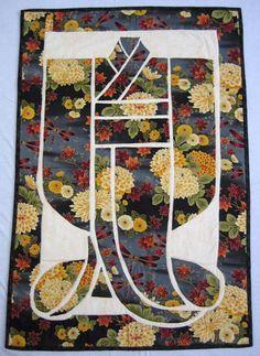 One of Margie Kimono quilts