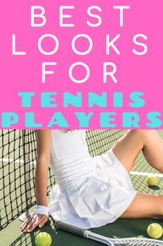 These tennis outfit ideas will keep you cool and moving on the court.  Tennis fashion is fun because you can go for vintage or modern looks.  This athletic ware is perfect for both on and off the court!