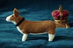 Knit a corgi: free knitting pattern    Add a royal pet to your household