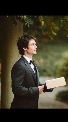 Ian Somerhalder officiating Paul and Jessica Ramsey's wedding
