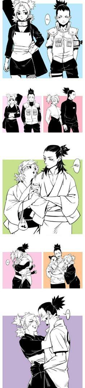 Sarada Uchiha Manga, Naruto Comic, Naruto And Hinata, Naruto Cute, Naruto Shippuden Sasuke, Naruto Couples, Naruto Girls, Cute Anime Couples, Shikatema
