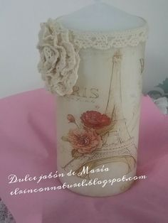Glass Vase, Home Decor, Decorated Candles, Natural Soaps, Oil, Decoration Home, Room Decor, Interior Decorating