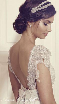 Anna Campbell Gossamer Wedding Dresses 2016 / http://www.deerpearlflowers.com/anna-campbell-gossamer-2016-wedding-dresses/