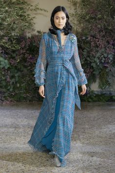 Luisa Beccaria Fall 2018 Ready-to-wear Fashion Show Collection