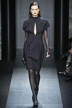 Salvatore Ferragamo Fall 2009 Ready-to-Wear Fashion Show - Catherine McNeil