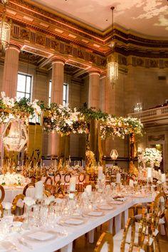 Featured Photographer: Abby Jiu Photography; Wedding reception ideas. Wedding Reception Decorations, Reception Ideas, Andrew Mellon, Washington Dc Wedding, Dc Weddings, Mod Wedding, Here Comes The Bride, White Roses, Glamour