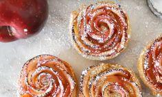 Näin+valmistat+herkullisia+ruusun+muotoisia+omenajälkiruokia+–+ohjeet+videolta