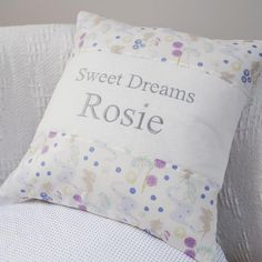 Sweet Dreams Cushion Little Girl Gifts, Little Girls, Baby Pillows, Sweet Dreams, Personalized Gifts, Pillow Cases, Cushions, Collection, Throw Pillows