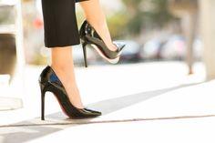 Wendy's Lookbook in black patent Pigalle 120s