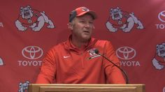 Fresno State Football: Tim DeRuyter (Nebraska, Post-Game Press Conference)