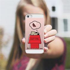LAZY PUG - Classic Snap Case